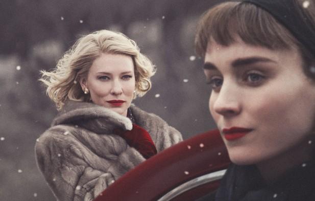 """Cate Blanchett e Rooney Mara concorrem na categoria """"Melhor Atriz"""", pela linda atuação em """"Carol""""."""