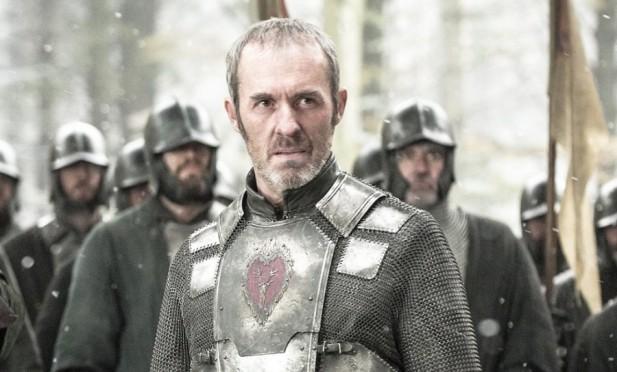 Dillane como Stannis Baratheon na 5ª temporada.