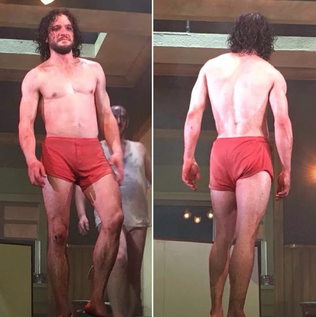 jon snow naked