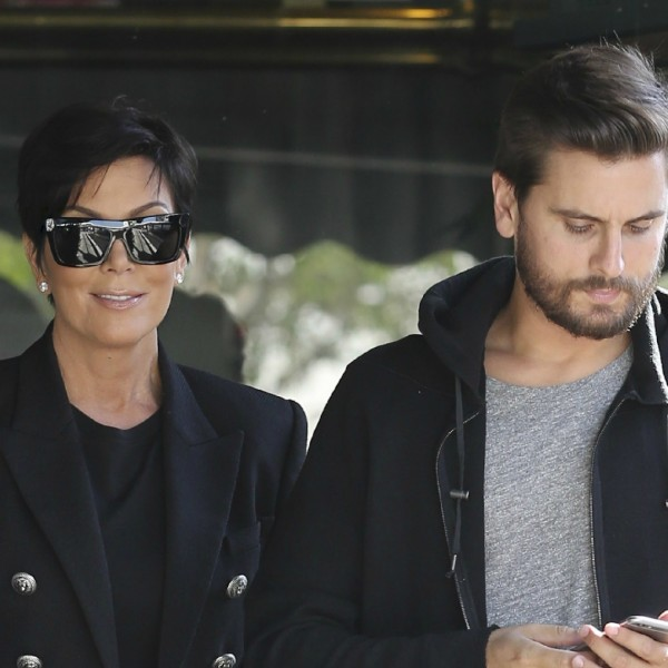 kris-jenner-scott-disick-selfie-photo-instagram