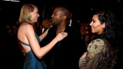 Kim Kardashian diz que Taylor Swift aprovou letra polêmica de Kanye; Porta-Voz da cantora rebate