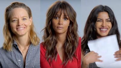 Jodie Foster, Halle Berry e Priyanka Chopra interpretam sucessos de Britney Spears