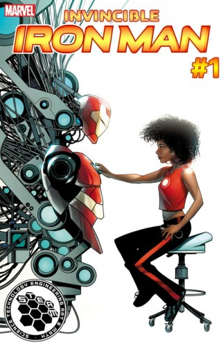 "Riri Williams será a heroína Ironheart em ""Invicible Iron Man""."